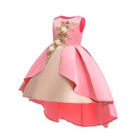 2acb24167 Vestidos De Fiesta Para Niña Color Rosa en Mercado Libre México