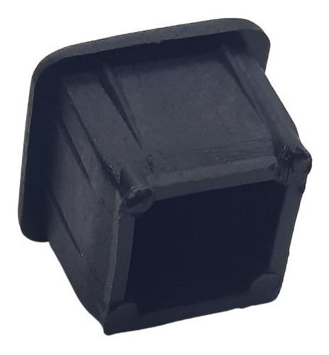 Imagen 1 de 4 de Regaton Plastico Interior Cuadrado 15x15 Mm X 100 Unid