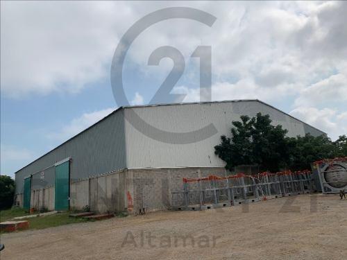Renta De Bodega Sobre Carr. Al Puerto Industrial, Col. Venustiano Carranza, Altamira, Tamaulipas.