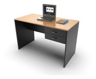 Escritorio Haya Y Negro Muebles Para Oficina 003-astra-008