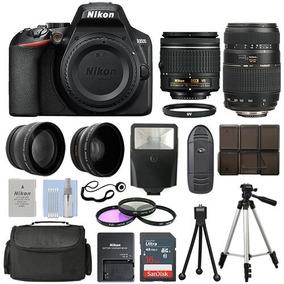 Nikon D3500 + 2 Lentes E Kit