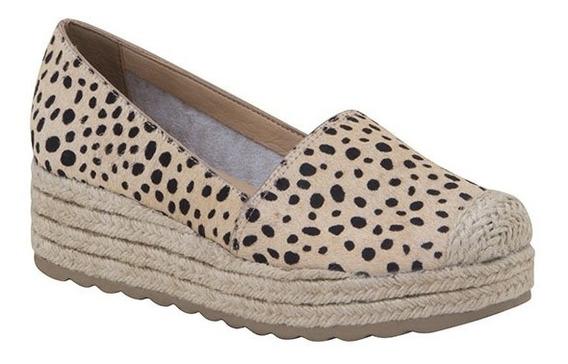 Sapato Feminino Couro Poney Mini Guepardo Bottero - 309503