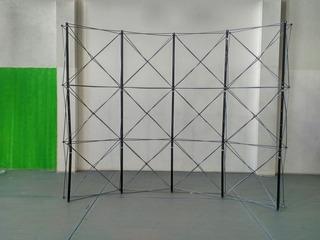 Stand Para Publicidad En Feria Expo Demo Araña De Aluminio