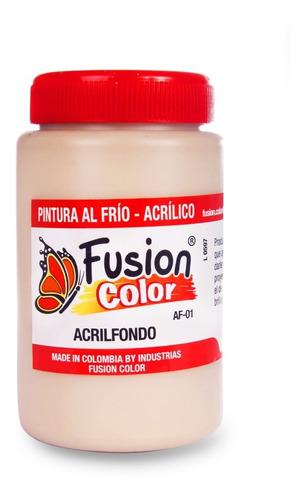 Imagen 1 de 1 de Pintura Fusion Color Acrilfondo X 250 Cc