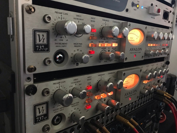 Avalon 737 Pré Amp Valvulado Strip - Oferta Especial