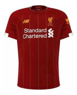 Camisa Liverpool 19/20 Firmino, Salah Oficial Envio Já