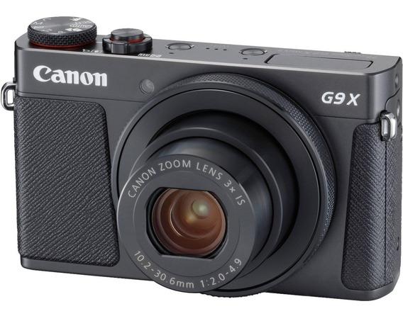 Câmera Canon G9x Fhd Prata Com Nf +8gb