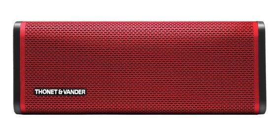 Parlante Thonet & Vander Frei portátil inalámbrico Red
