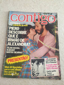 Revista Contigo Aildo Mello Eva Wilma Elizângela N°313