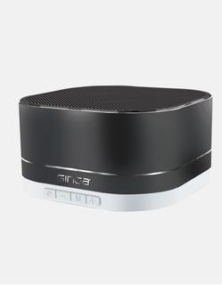 Bocina Bluetooth Con Funcion De Radio Y Ranura Sd Gris
