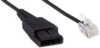 Jabra Gn1216 Smartcord Straight Headset Cable Para Avaya Des
