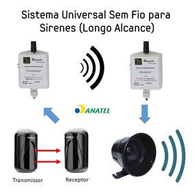 Transformador A Oleo Alarme Antifurto Sem Fio Trifásico Mono