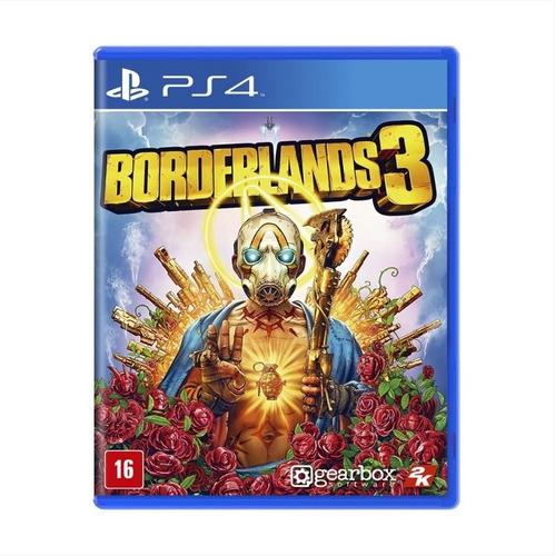 Borderlands 3 - Ps4 - Mídia Física