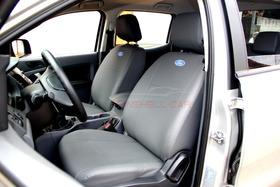 Capas Bancos Automotivos Couro Ford Ranger Cabine Dupla 2015