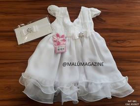 Vestido Batizado Feminino