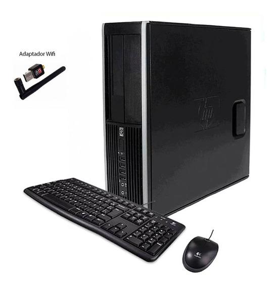 Computador Cpu Desktop Hp 8100 I5 8gb 500gb - Frete Grátis