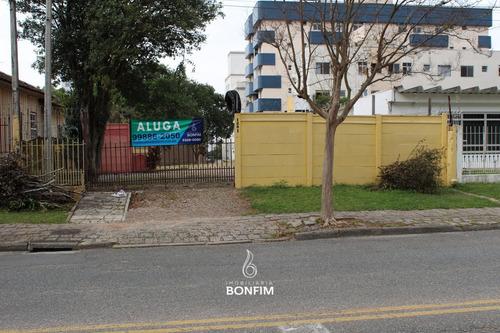 Terreno Para Alugar Com 636m² Por R$ 2.890,00 No Bairro Água Verde - Curitiba / Pr - Tel0001
