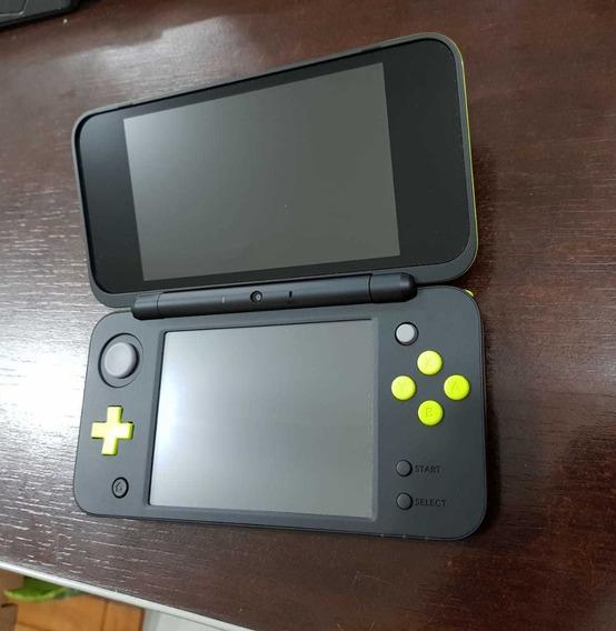 New Nintendo 2ds Ll Xl Novo Verde Limão + Brinde Surpresa