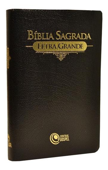 Bíblia Sagrada Letra Grande - Preta