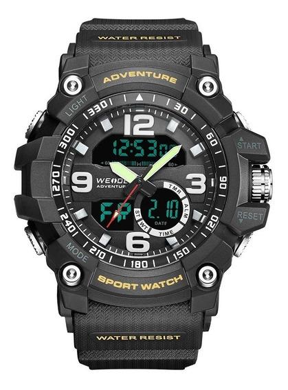 Relógio Masculino Esportivo A Prova D´água Original D140