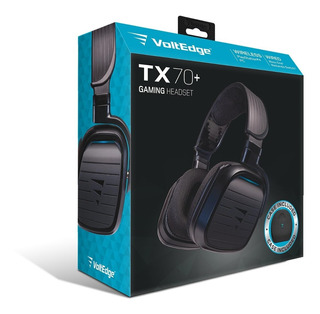 Headset + Case Tx-70 Ps4 Voltedge ( Garantía De Por Vida )