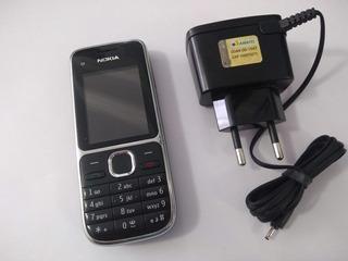 Nokia C2-01 3g, 3mp Fm Mp3 Usado - Ótimo Estado