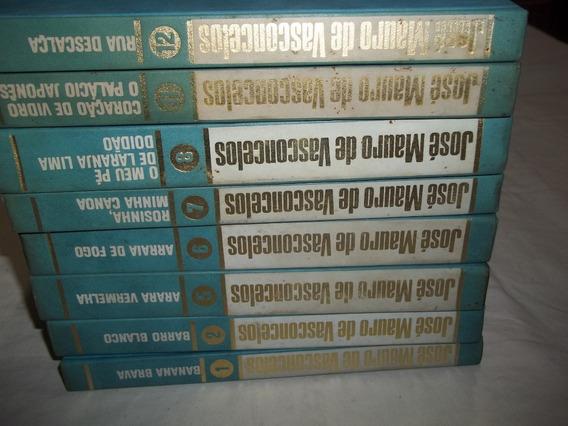 Lote Coleção Jose Mauro De Vasconcelos 8 Volumes