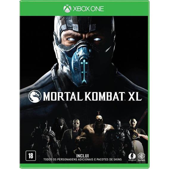Jogo Mortal Kombat Xl Xbox One, Novo, Lacrado, Mídia Física.