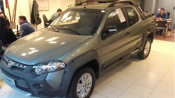 Fiat Strada Adventure Cabina Doble-anticipo $95.000/cuotas D
