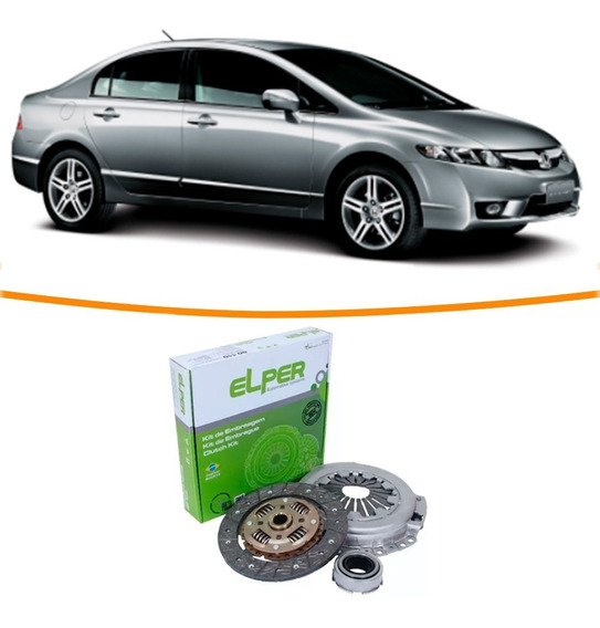 Kit Embreagem Honda New Civic 1.8 2006 2007 2008 2009