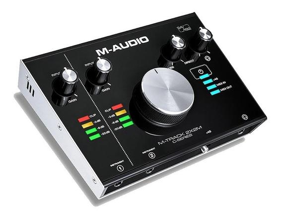 Interface De Audio Usb M-audio M-track 2x2m