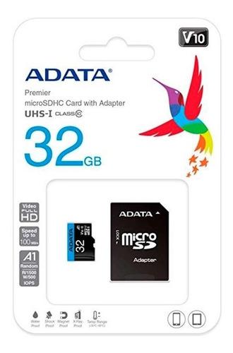 Kit Com 10 Cartão De Memória Adata 32gb Premier