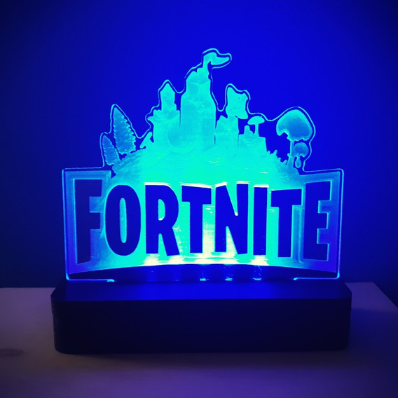 Luminária Fortnite Game - Usb E Fonte - Novo 2019