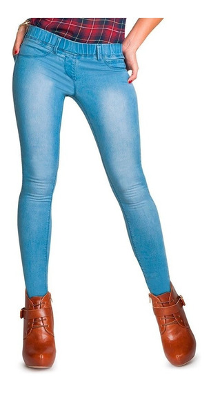 Jeggings Casual Atmosphere Dnm 172 Azul - 135543