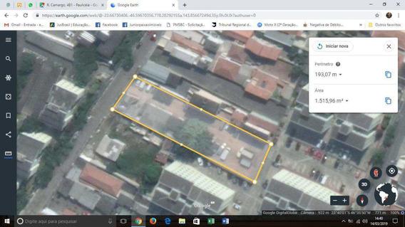 Terreno Paulicéia, Sbcampo, 1.500m², Excel.pra Minha Casa/vida. - V3196