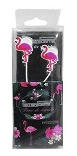 Fone De Ouvido Modelo Flamingo Colors 1,1 M