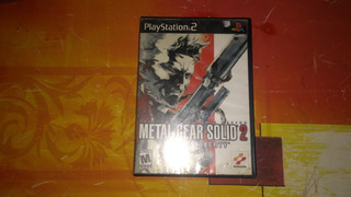 Metal Gear Solid Sons Of Liberty Play Station 2