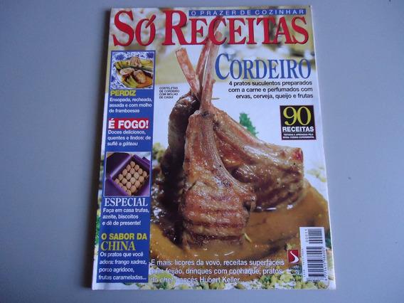 Revista Só Receitas Nº 11 -cordeiro Perdiz Licor Trufa Suflê