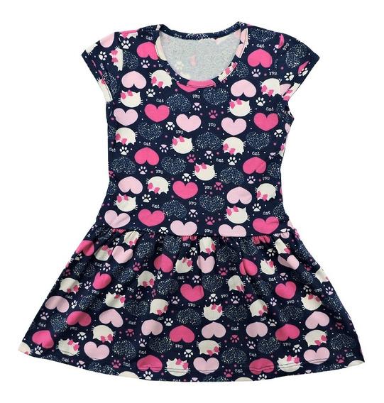 Kit 3 Vestido Infantil Menina Roupa Feminina Atacado