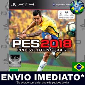 Pes 2018 Pes 18 Ps3 Mídia Digital Psn Original Português