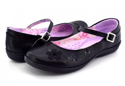 Zapato Escolaryuyin 77570 Negro 22 - 25 Niñas