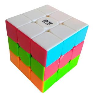 Cubo Rubik Qiyi 3x3 Warrior W Colored Original