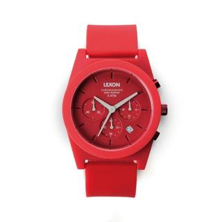 Rojo Primavera Cronógrafo Reloj Analógico De Cuarzo