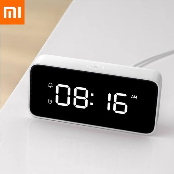 Relógio Despertador De Voz Inteligente Xiaomi Com Wifi E Blu
