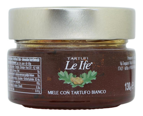 Miele Con Tartufo Bianco Tartufi Le Ife 130g