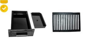 Kit 2 Gaveta Pequena+2 Grelha Pequena + Regulador + Grelha