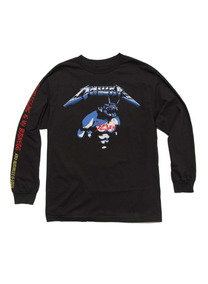 Playera Mishka - No Es Metallica Slayer Iron Maiden Slipknot