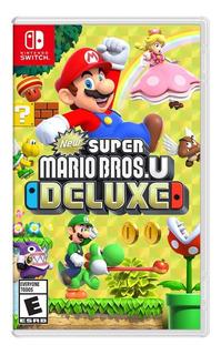 ¡ New Super Mario Bros U Deluxe Para Nintendo Switch En Wg !