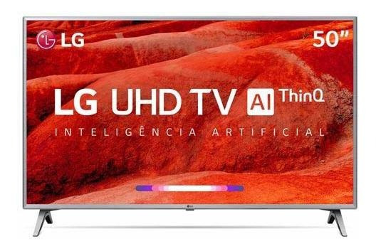 Smart Tv 4k Lg Led 50 4k Webos 4.5 Wi-fi - 50um7510psb