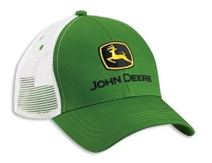 Cachucha John Deere 100% Original Gorra Malla Modelo Lp69108